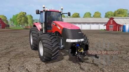 Case IH Magnum CVX 370 wide tires para Farming Simulator 2015