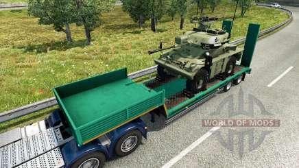 Military cargo pack v2.0 para Euro Truck Simulator 2