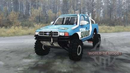 Ford F-series Petronas Suvium para MudRunner