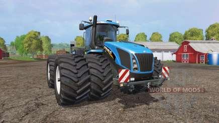 New Holland T9.565 twin wheels v1.2 para Farming Simulator 2015