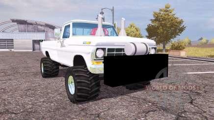 Ford F-100 1972 highboy para Farming Simulator 2013
