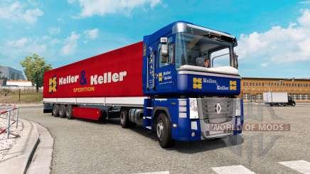 Painted truck traffic pack v2.4 para Euro Truck Simulator 2