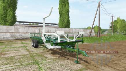 SIPMA self-loading bale trailer para Farming Simulator 2017