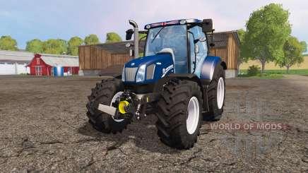 New Holland T6.160 blue power para Farming Simulator 2015