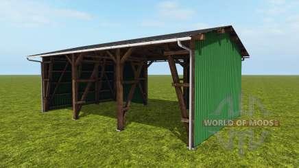 O celeiro para Farming Simulator 2017