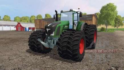 Fendt 936 Vario twin wheels para Farming Simulator 2015