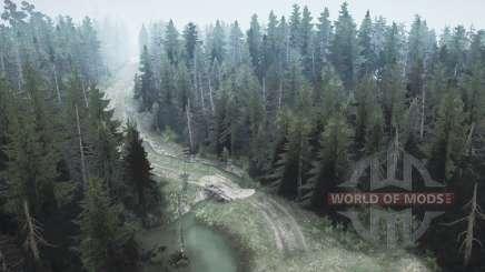 Floresta de pinheiros 2 para MudRunner