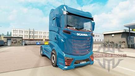 Scania R1000 concept v5.0 para Euro Truck Simulator 2