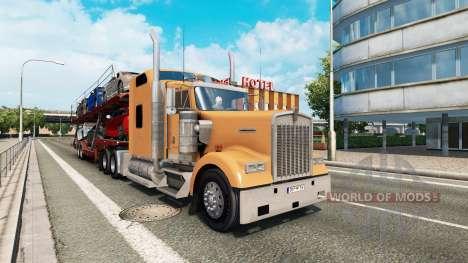American truck traffic pack v1.4 para Euro Truck Simulator 2