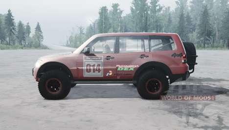 Mitsubishi Montero para Spintires MudRunner