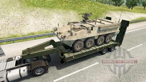 Military cargo pack v2.2 para Euro Truck Simulator 2
