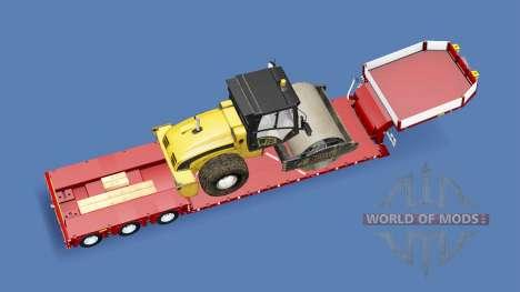 Doll Vario 3-axle v5.1 para Euro Truck Simulator 2