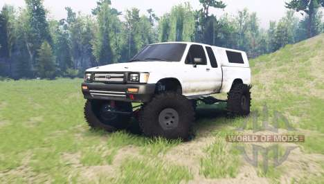 Toyota Hilux Xtra Cab 1994 para Spin Tires