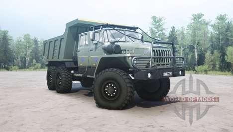 Ural 4320-1912-60 v1.1 para Spintires MudRunner