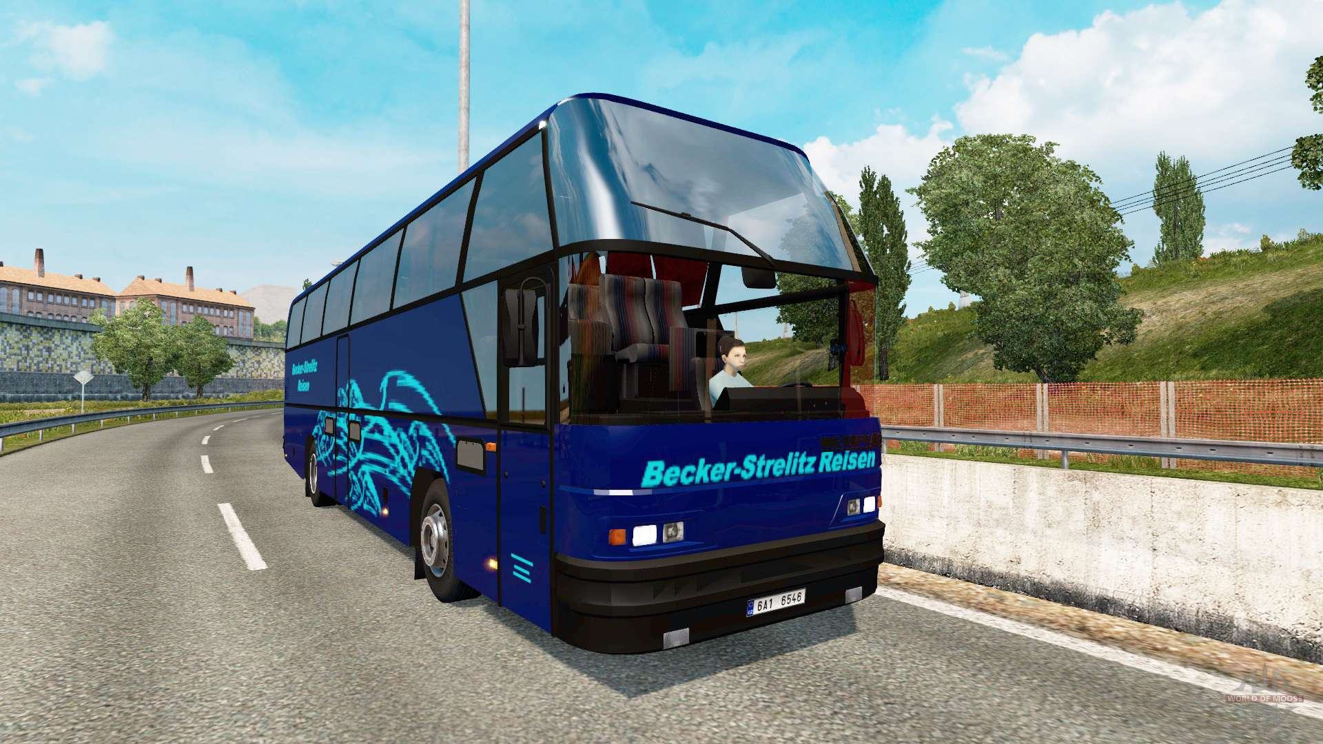 Bus traffic v1 6 para Euro Truck Simulator 2