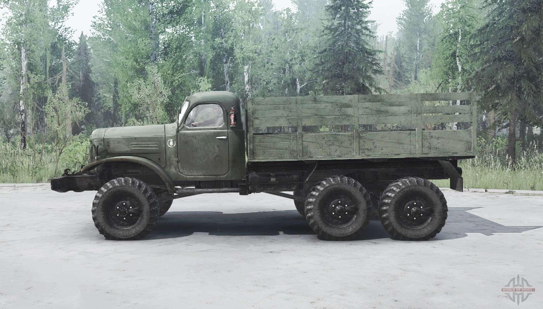 Truck Mud Tires >> ZIL 157 para MudRunner