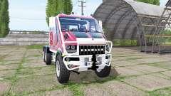 Bremach T-Rex Double Cab marins-pompiers para Farming Simulator 2017