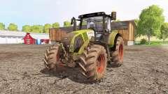 CLAAS Axion 820 front loader para Farming Simulator 2015