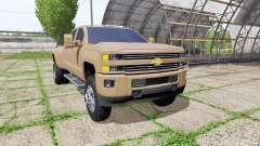 Chevrolet Silverado 3500 HD Crew Cab para Farming Simulator 2017