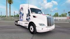 Nico pele para o caminhão Peterbilt 579 para American Truck Simulator