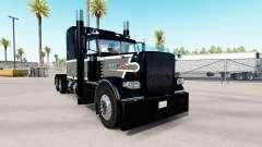 Magia negra de pele para o caminhão Peterbilt 38