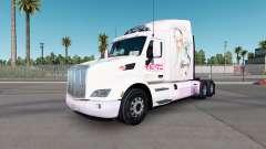 Super Sonico pele para o caminhão Peterbilt 579 para American Truck Simulator