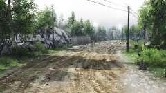 Siberia para Spin Tires