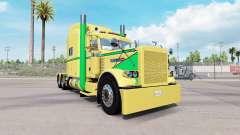 Pele Amarela, Verde para o caminhão Peterbilt 38