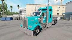 Pele Tum no caminhão Kenworth W900