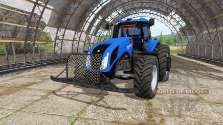 New Holland T8.270 v3.5 para Farming Simulator 2017