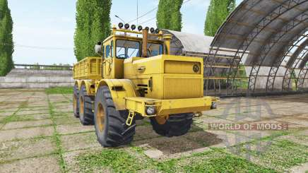 Kirovets K 701 6x6 dumper v1.2 para Farming Simulator 2017