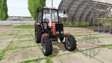 MTZ Bielorrússia 82.1 v1.2 para Farming Simulator 2017