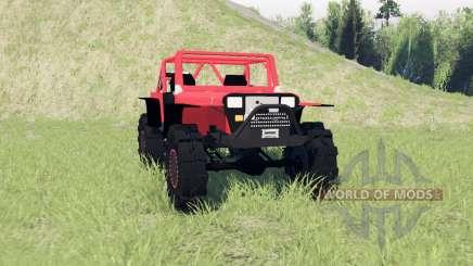 Jeep Wrangler (YJ) para Spin Tires