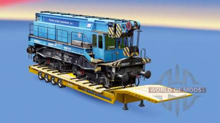 Railway cargo pack v1.8 para Euro Truck Simulator 2