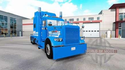 Pão Badmind pele para o caminhão Peterbilt 389 para American Truck Simulator