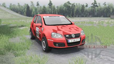 Volkswagen Golf V GTI para Spin Tires
