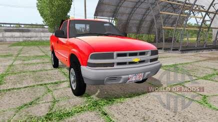 Chevrolet S-10 Regular Cab para Farming Simulator 2017