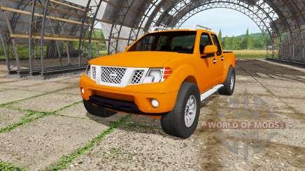 Nissan Frontier Pro-4X Crew Cab (D40) 2012 para Farming Simulator 2017