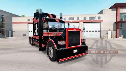 Скин Sul Cadela Personalizado на Peterbilt 389 para American Truck Simulator