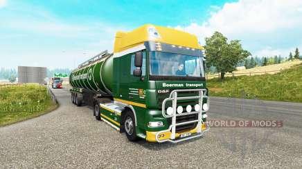 Painted truck traffic pack v3.1 para Euro Truck Simulator 2