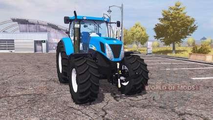 New Holland T7030 v2.0 para Farming Simulator 2013