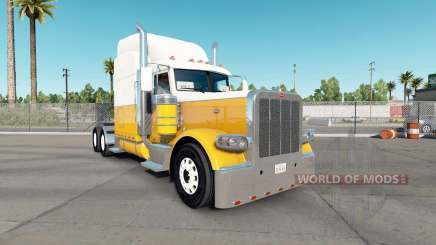 Creme para a pele de Ouro para o caminhão Peterbilt 389 para American Truck Simulator