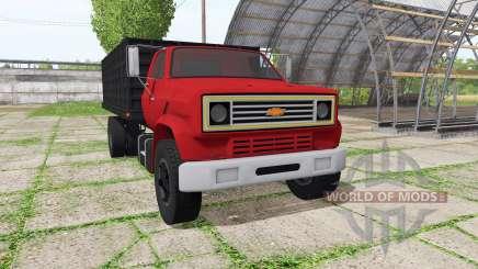 Chevrolet C70 dump v1.2.1 para Farming Simulator 2017
