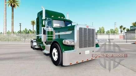 Pele DarkGreen para o caminhão Peterbilt 389 para American Truck Simulator