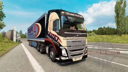 Painted truck traffic pack v2.8 para Euro Truck Simulator 2