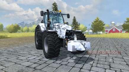 Deutz-Fahr Agrotron 7250 TTV arctic camo para Farming Simulator 2013