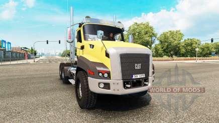 Caterpillar CT660 v2.0 para Euro Truck Simulator 2