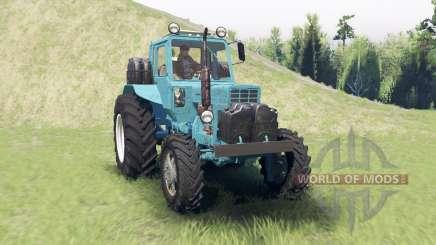 MTZ 82 de Belarusian para Spin Tires