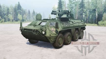 BTR-4E Bucephalus para MudRunner