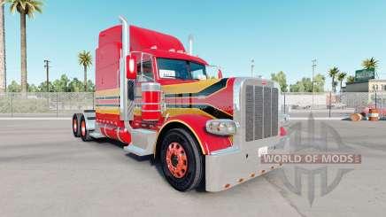 A pele do Bebê de Vermelha no caminhão Peterbilt 389 para American Truck Simulator